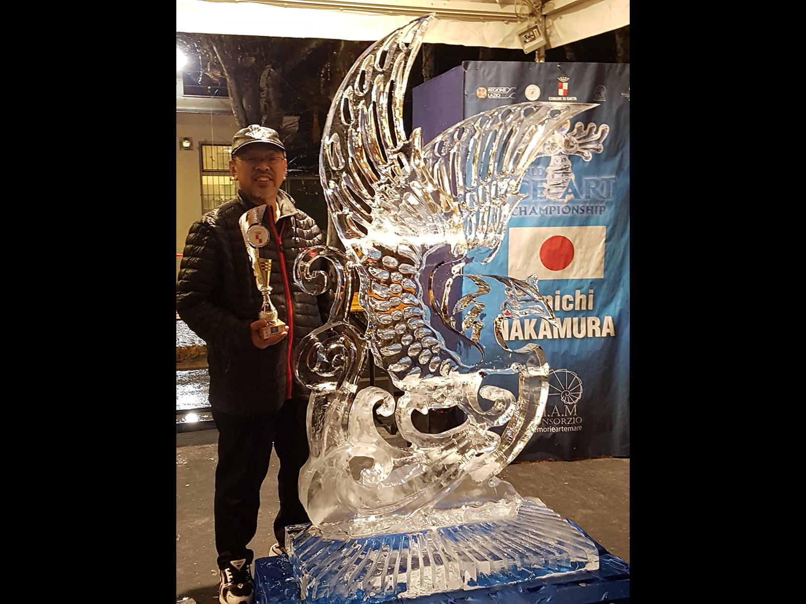 Gaeta 2019 Junichi Nakamura - Ghiaccio d'Arte