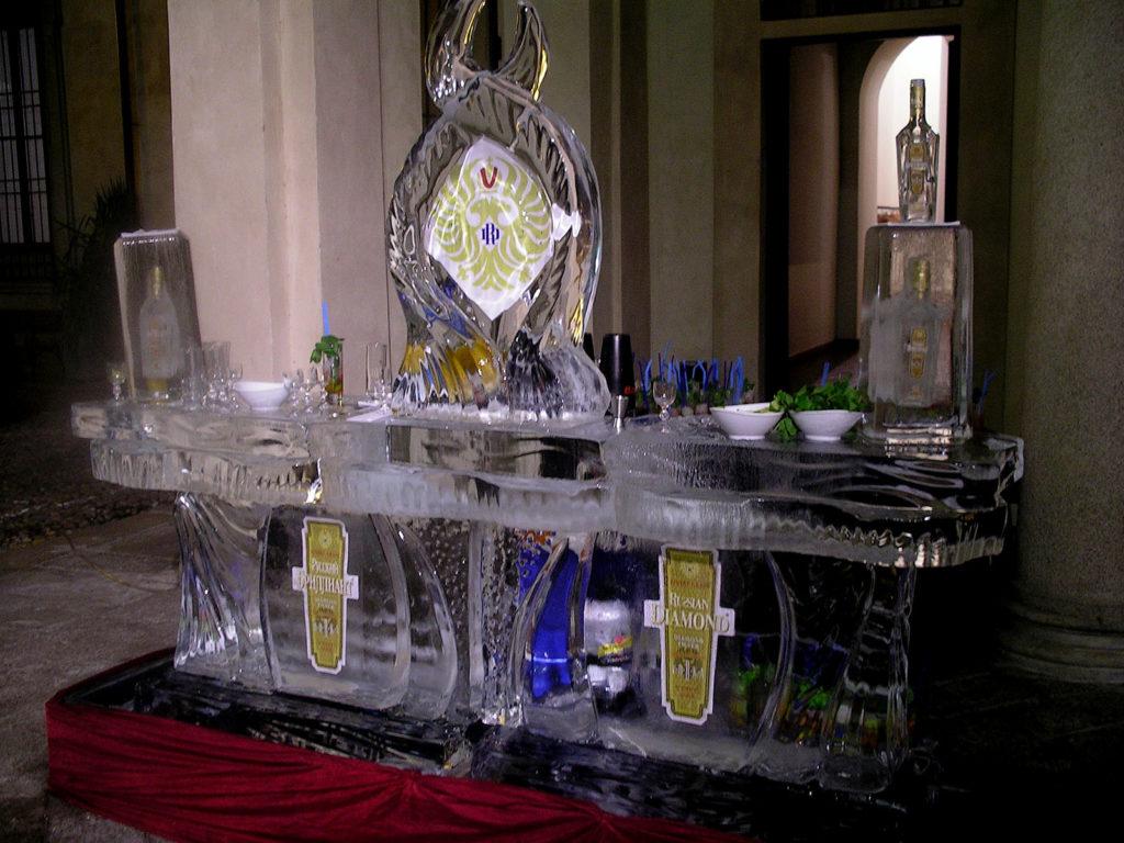 Russian Diamond Icebar - Ghiaccio d'Arte