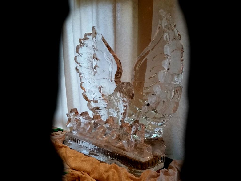 aquila di ghiaccio 10 - Ghiaccio d'Arte