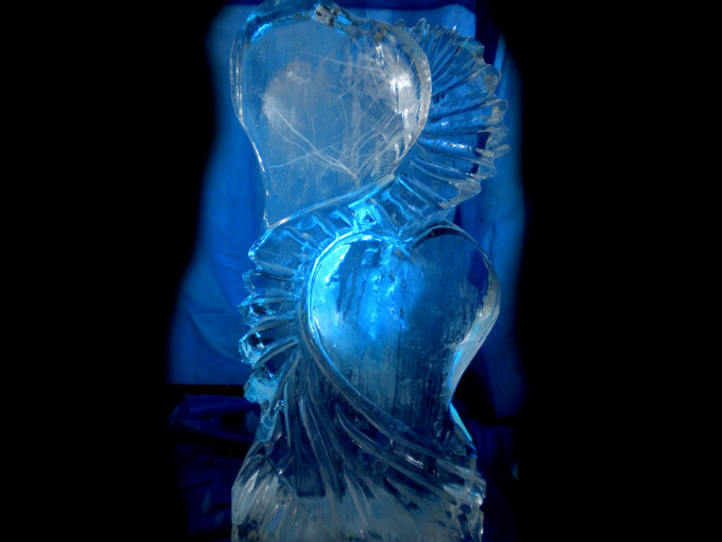 art.09.doppio cuore - Ghiaccio d'Arte