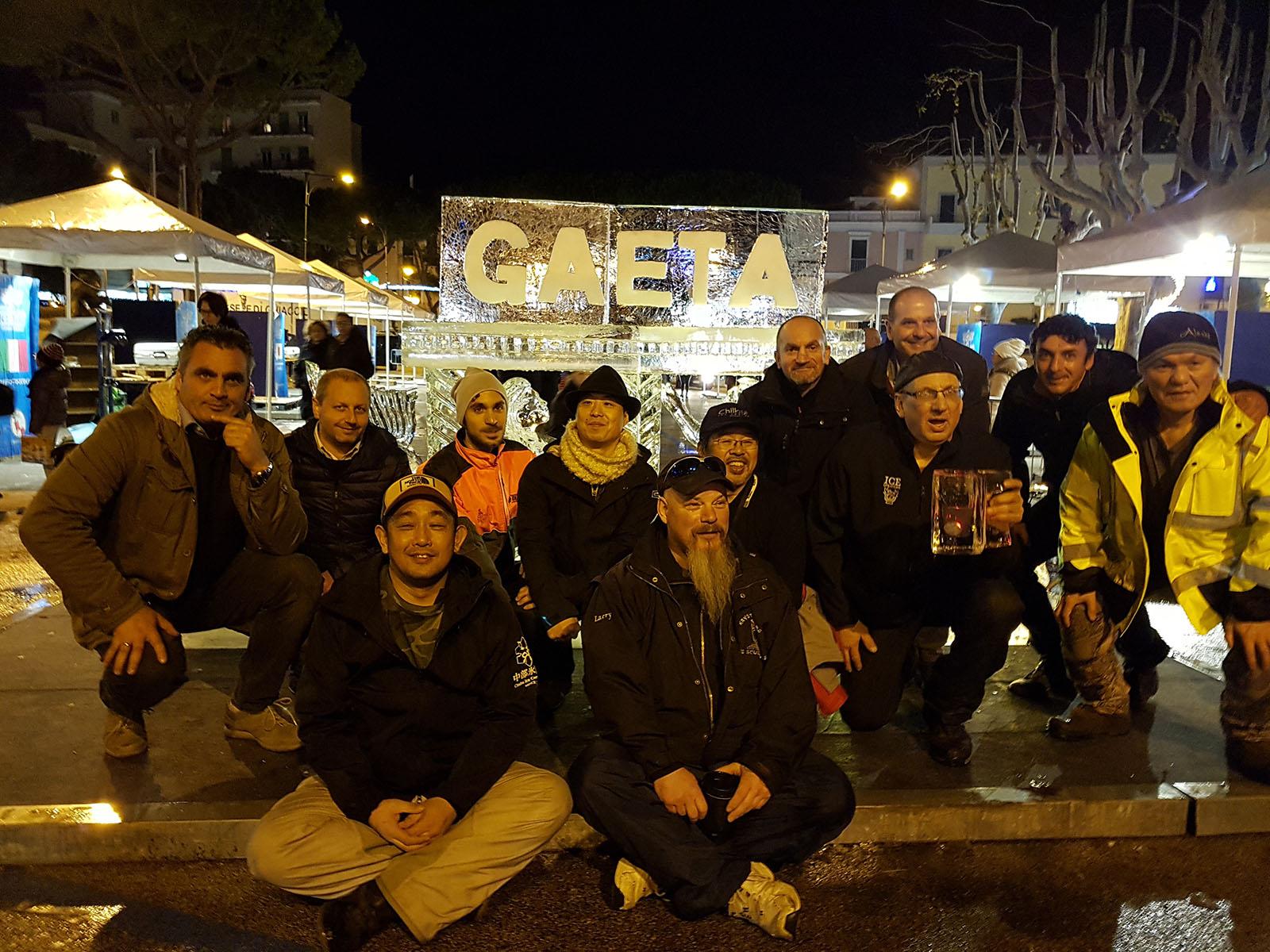 artisti in gara Gaeta 2018 2011 - Ghiaccio d'Arte