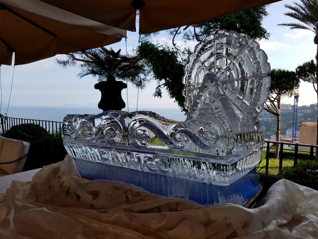 banco in ghiaccio per gelati 1 - Ghiaccio d'Arte