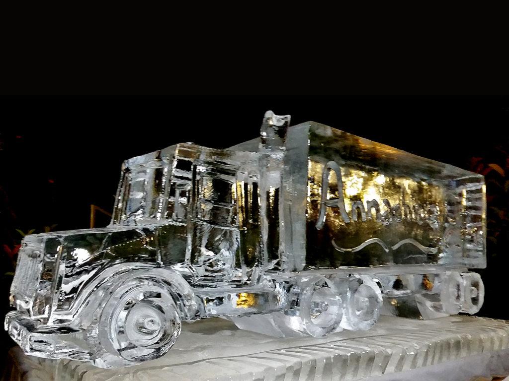 camion di ghiaccio 11 - Ghiaccio d'Arte