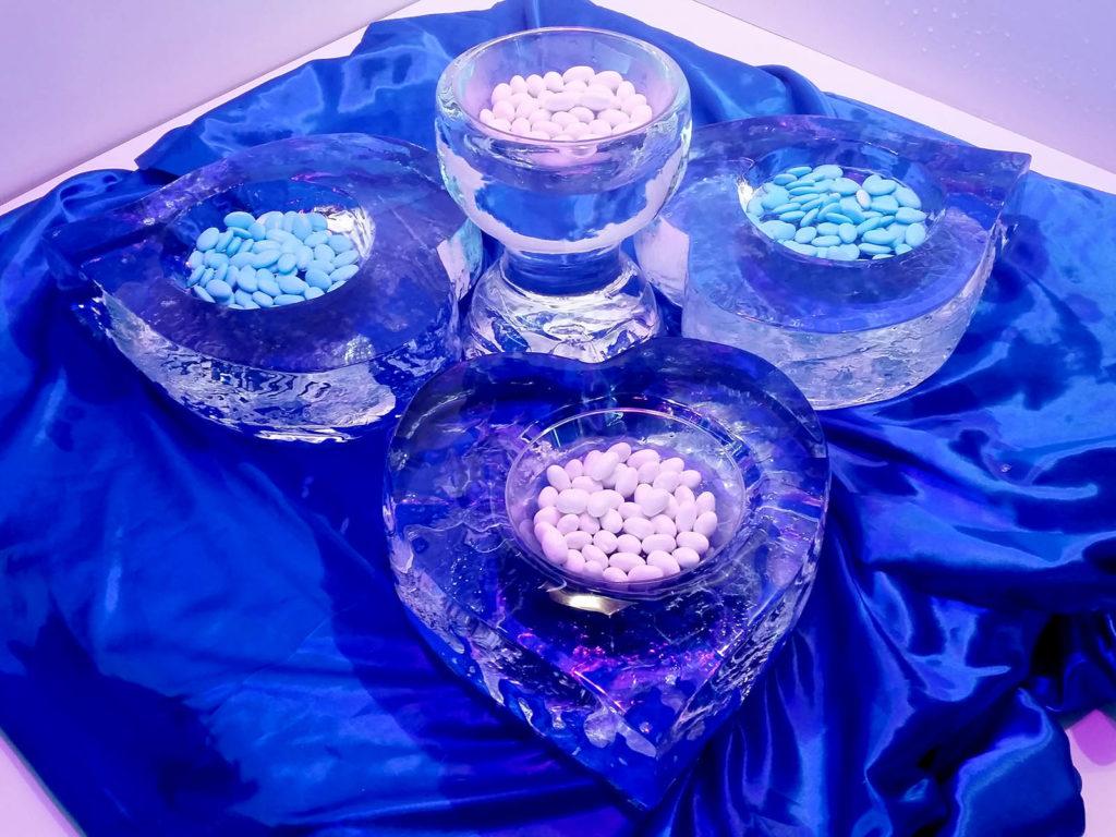 confettata con ghiaccio - Ghiaccio d'Arte