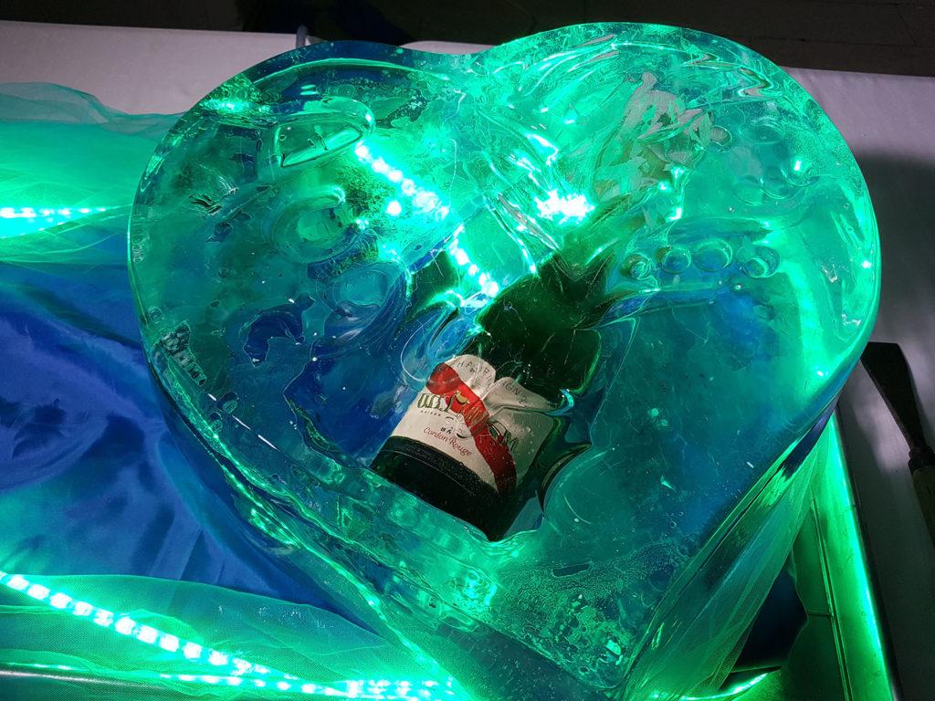 cuore di ghiaccio e champagne 3 - Ghiaccio d'Arte