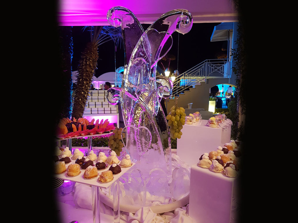 cuori di ghiaccio e frutta 6- Ghiaccio d'Arte