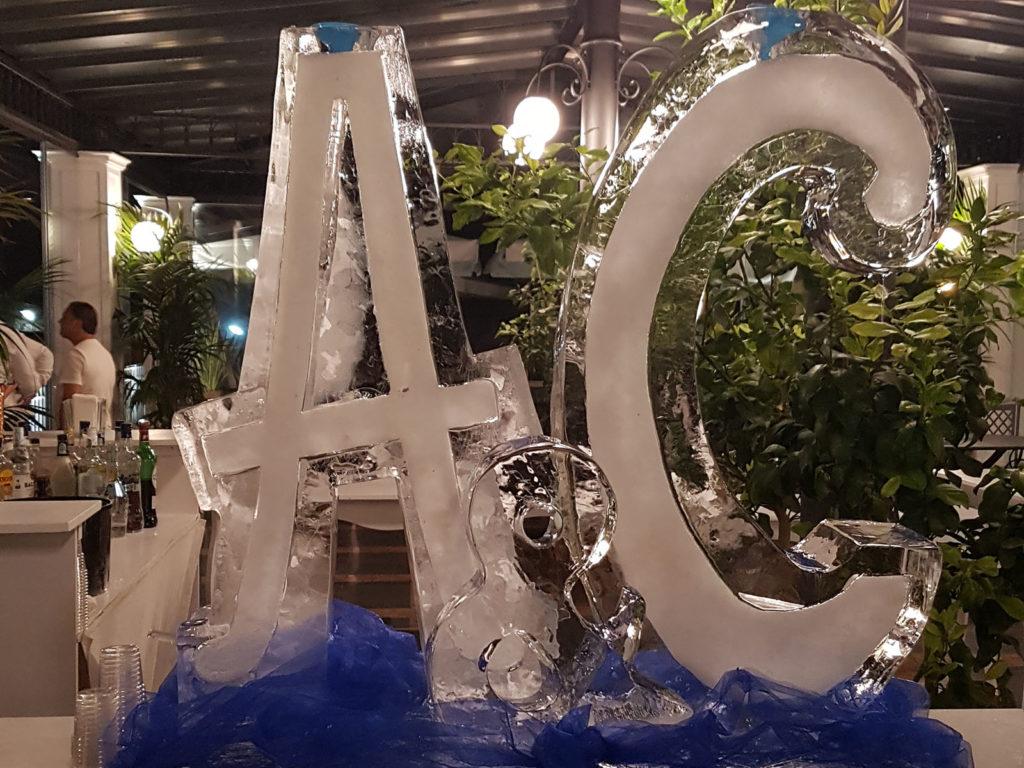 doppio scivolo di ghiaccio 3 - Ghiaccio d'Arte