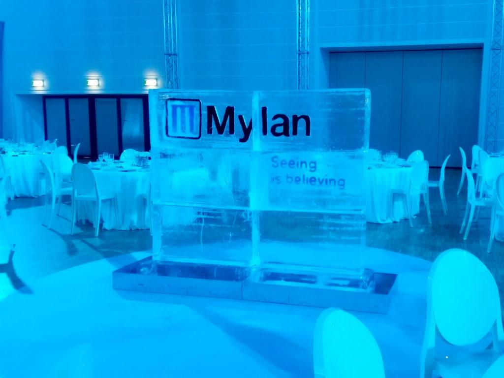 evento MYLAN- Ghiaccio d'Arte
