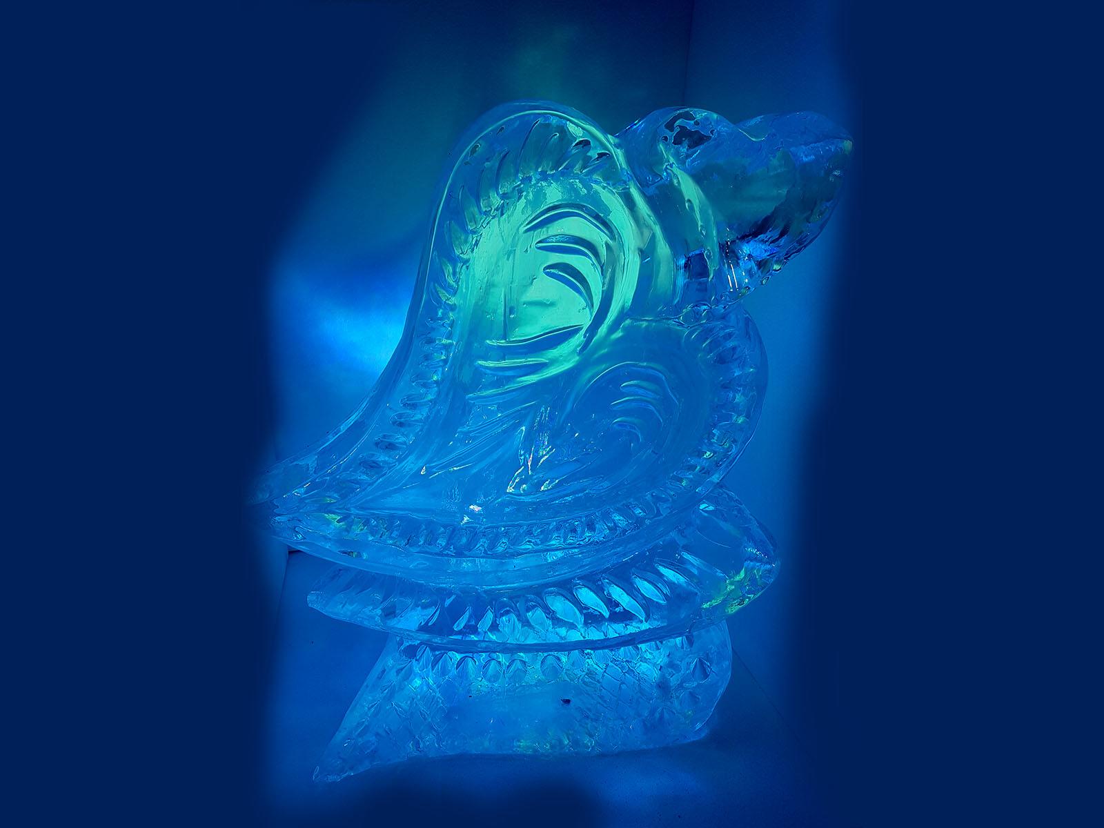 heart ice luge - Ghiaccio d'Arte