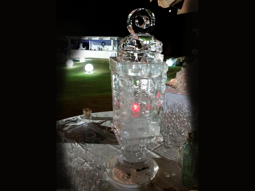 lanterna di ghiaccio 1 - Ghiaccio d'Arte