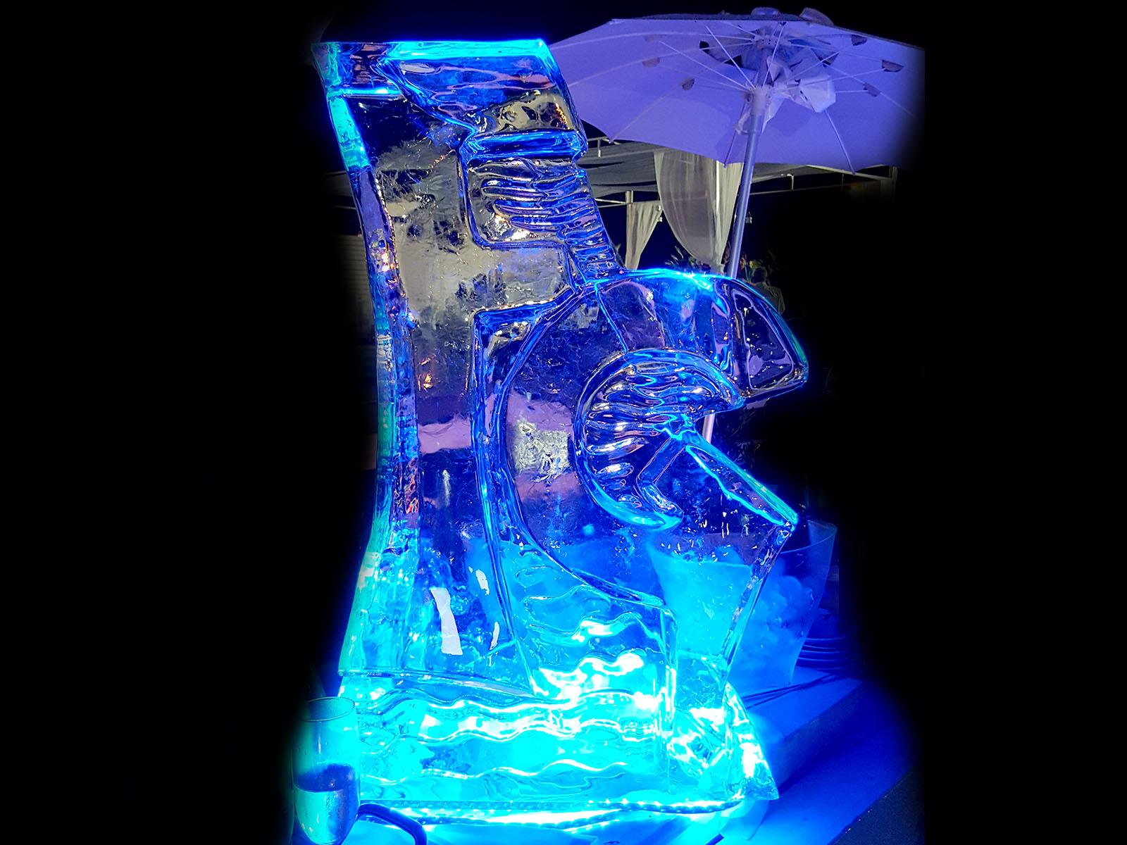 lettera scivolo di ghiaccio 7 - Ghiaccio d'Arte