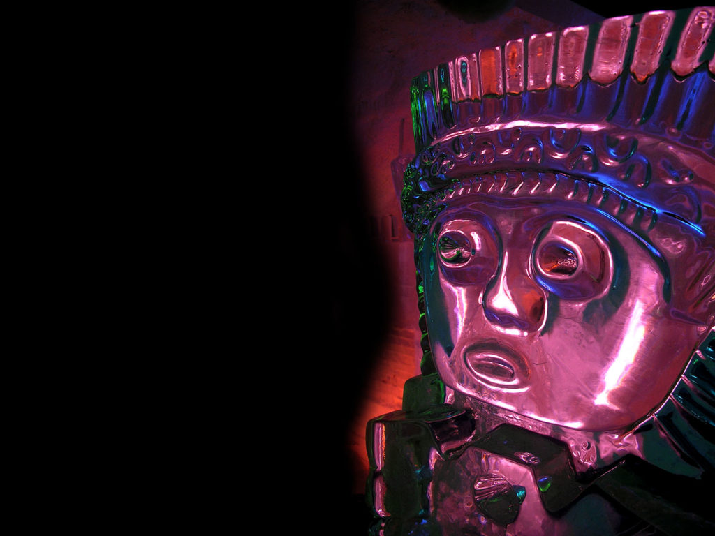 maschera maya - Ghiaccio d'Arte