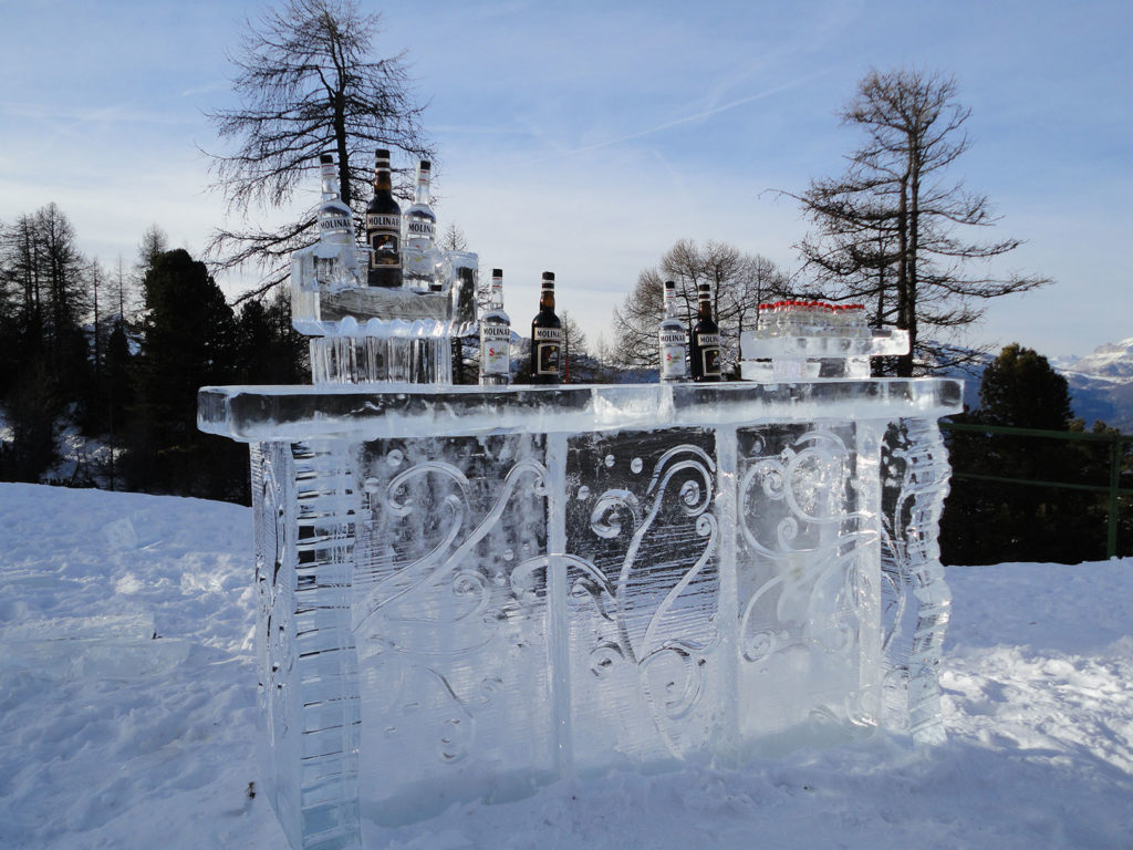 molinari icebar- Ghiaccio d'Arte