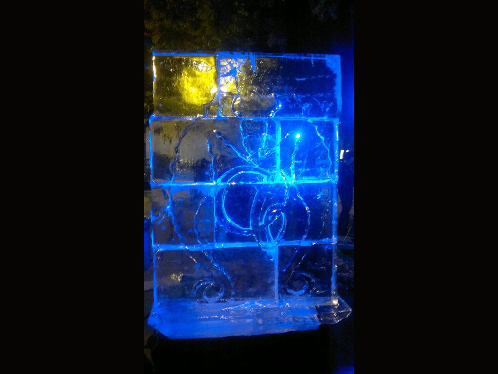 muro di ghiaccio - Ghiaccio d'Arte
