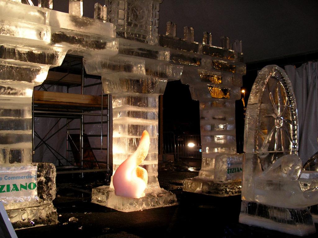 portale di ghiaccio treviso - Ghiaccio d'Arte