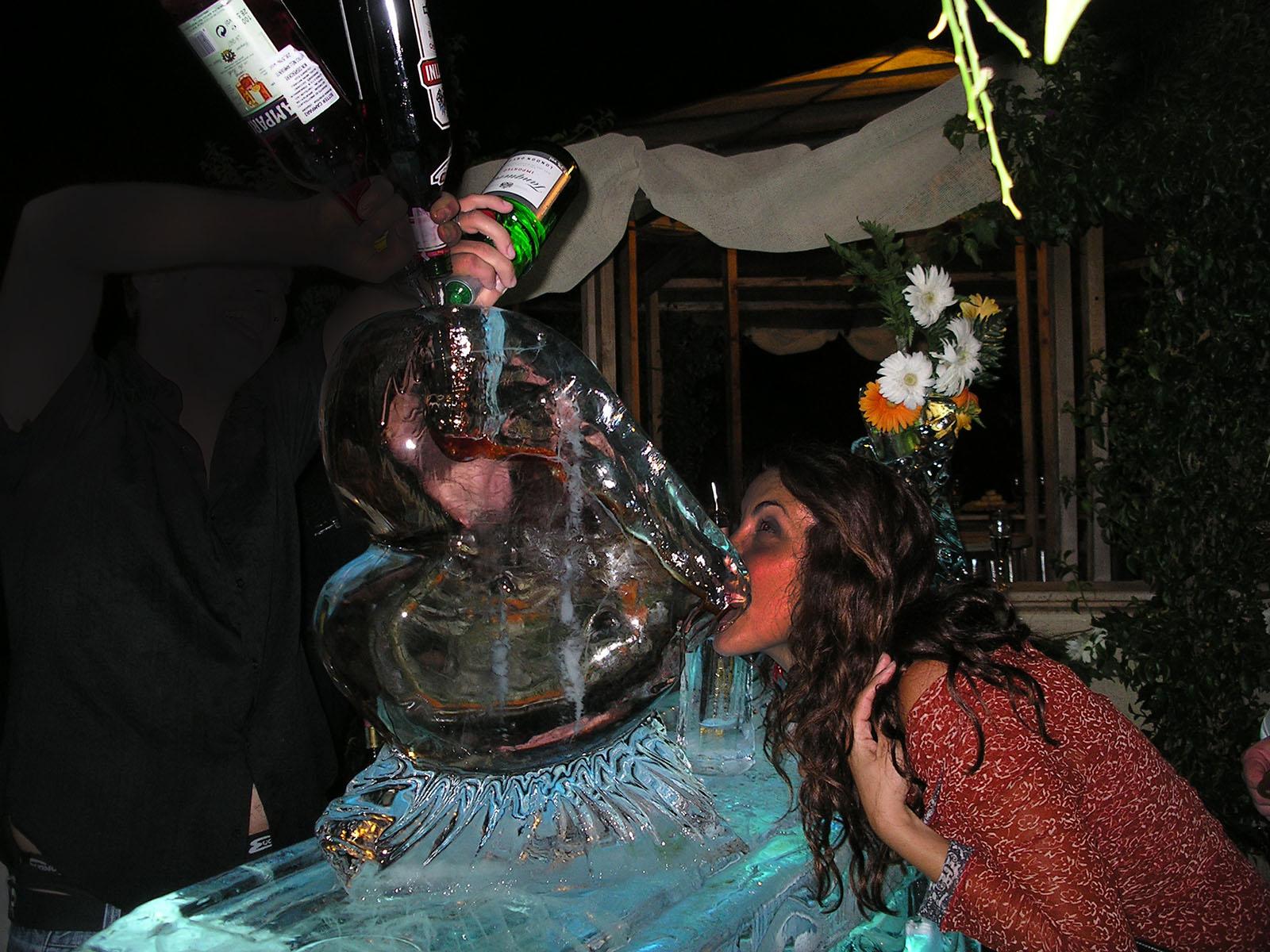 scivolo di ghiaccio 1 - Ghiaccio d'Arte