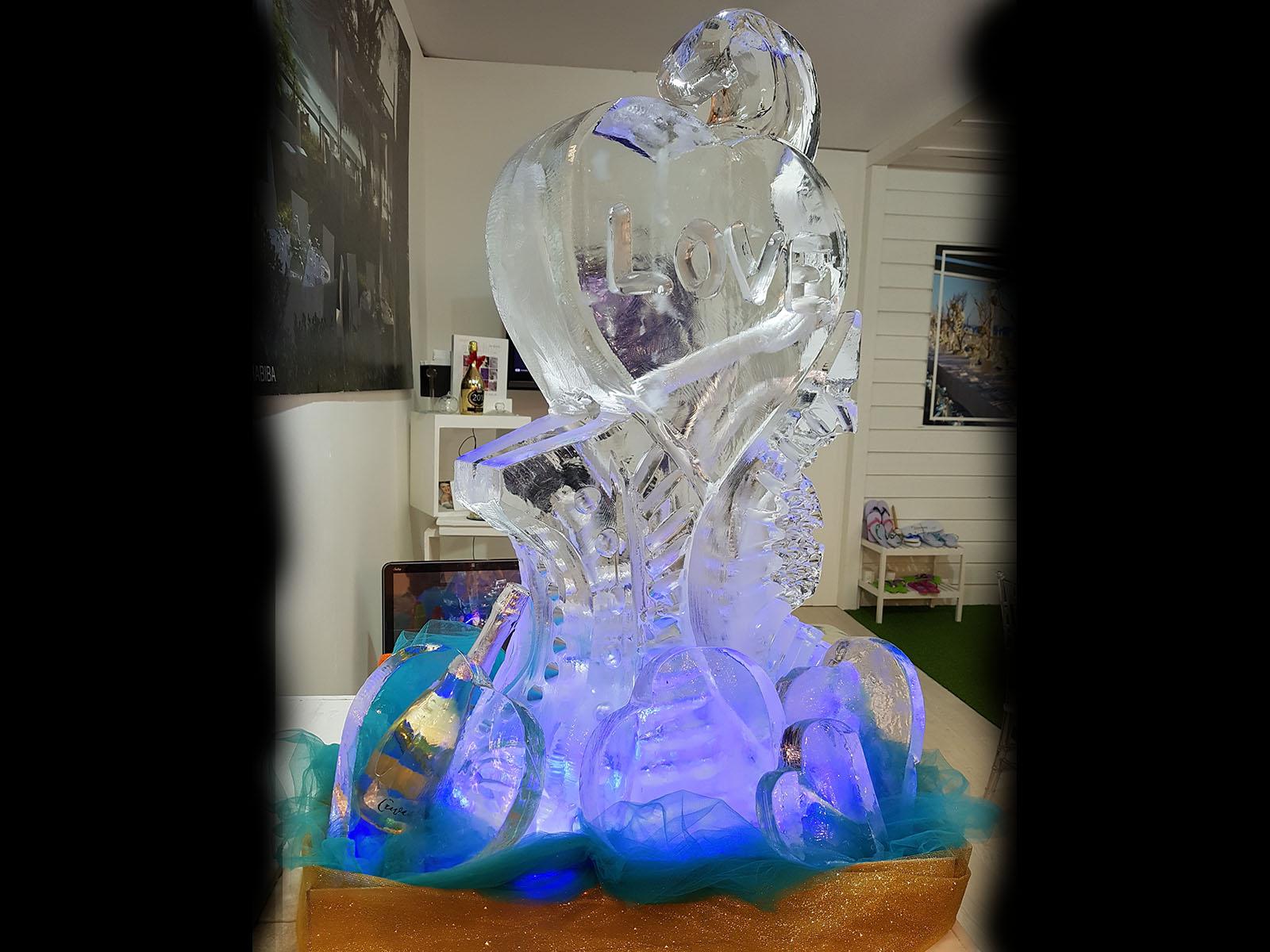scivolo di ghiaccio grande 9 - Ghiaccio d'Arte