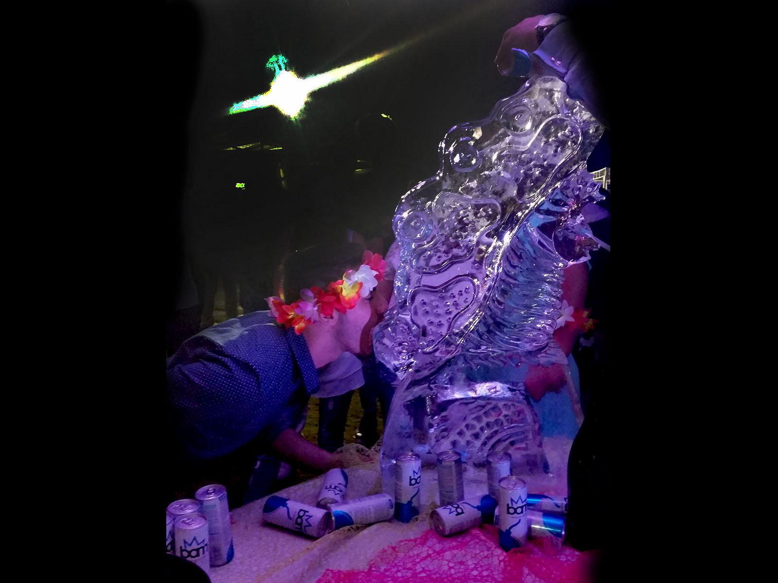 scultura scivolo di ghiaccio 6 - Ghiaccio d'Arte
