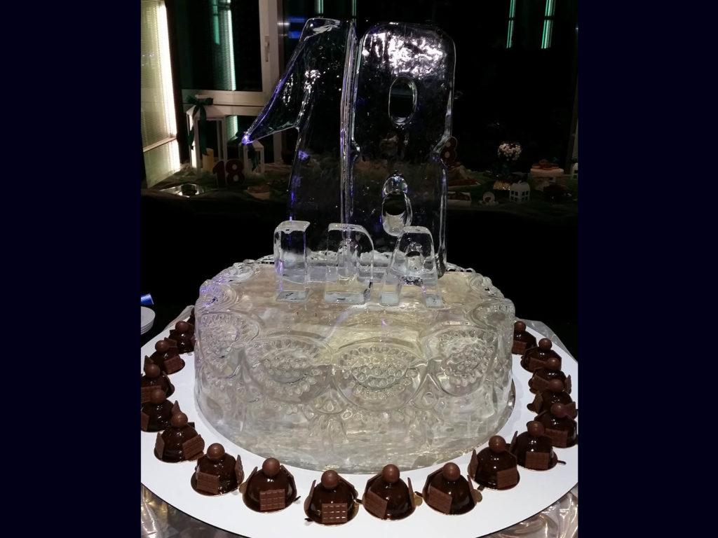 torta di ghiaccio 2 - Ghiaccio d'Arte