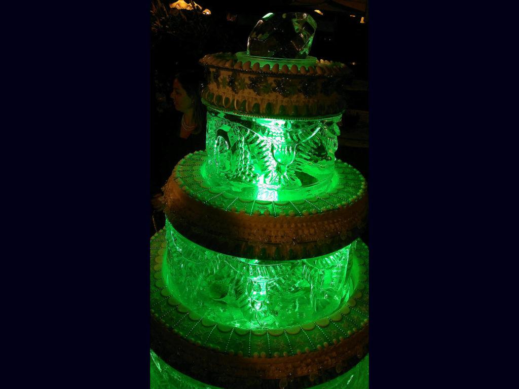 torta di ghiaccio 1- Ghiaccio d'Arte